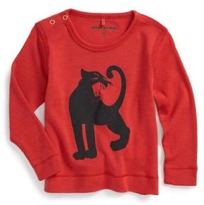 Mini Rodini Infant Boy's Panther Merino Wool T-Shirt