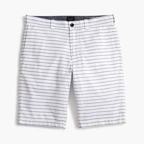 J.Crew 10.5 Striped Oxford Short