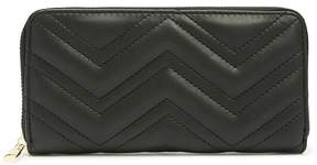 Forever 21 Chevron Quilted Wallet