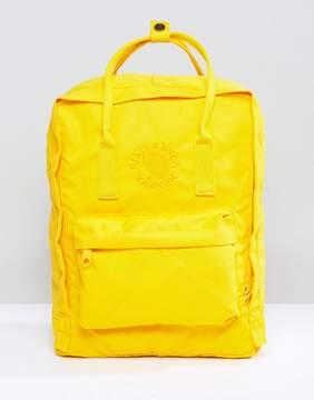 Fjallraven Re-Kanken Backpack in Yellow 16L
