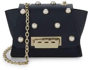Zac Posen Women's Eartha Faux Pearl Leather Crossbody Bag