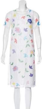 Cynthia Rowley Embellished Shift Dress