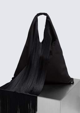 MM6 MAISON MARGIELA Fold Over Fringe Tote