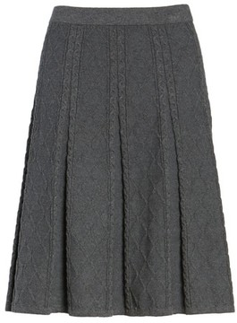 CeCe Women's Jacquard Knit Skirt