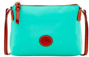 Dooney & Bourke Nylon Crossbody Pouchette Shoulder Bag - MINT - STYLE