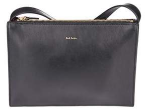 Paul Smith Women's Black Leather Shoulder Bag.