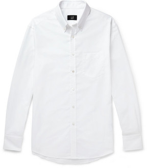 Dunhill Button-Down Collar Cotton Oxford Shirt