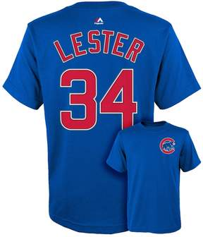 Majestic Boys 8-20 Chicago Cubs Jon Lester Player Name and Number Tee