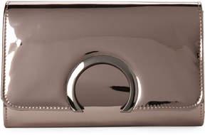 La Regale Bronze-Tone Horseshoe Clutch