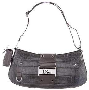 Christian Dior Greene Street Crocodile Shoulder Bag