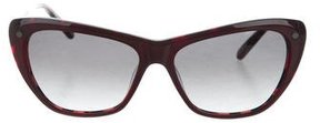Balmain Logo Cat-Eye Sunglasses w/ Tags