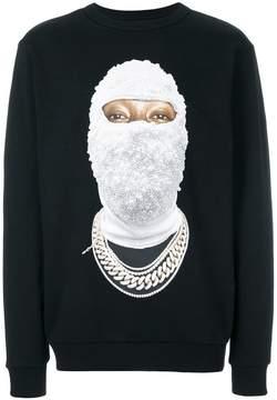 Ih Nom Uh Nit face gold sweatshirt