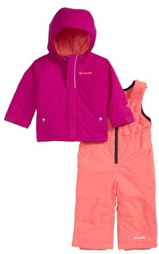 Columbia Infant Girl's Buga Waterproof Insulated Jacket & Snow Bib