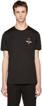 Dolce & Gabbana Black Bee T-Shirt