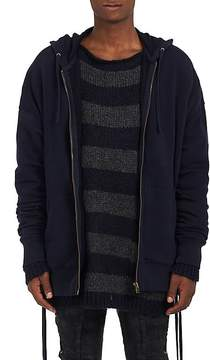 Faith Connexion Men's Laced-Side Cotton Oversized Hoodie