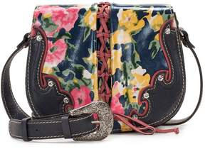 Patricia Nash Secret Garden Collection Salerno Saddle Bag