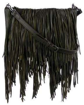 Elizabeth and James Andrew Fringe Fold-Over Crossbody Bag