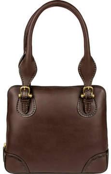 Scully Pebbled Double Handbag B167 (Women's)