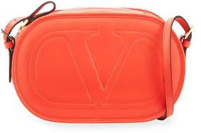 Valentino Stitched V Crossbody Bag