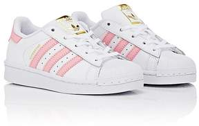 adidas Kids' Superstar Faux-Leather Sneakers