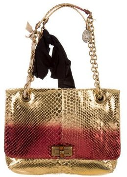 Lanvin Snakeskin Happy Bag