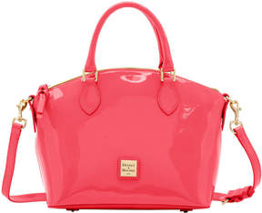 Dooney & Bourke Patent Cara Satchel - BUBBLE GUM - STYLE