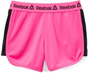 Reebok Pink Glo Knit Court Shorts - Toddler & Girls