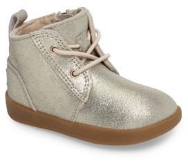 UGG Infant Girl's Kristjan Metallic Sneaker Boot