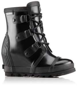 Sorel Joan Rain Wedge Gloss Rain Boots