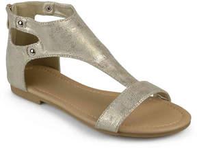 Journee Collection Women's Bevin Flat Sandal