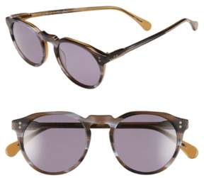 Raen Men's 'Remmy' 49Mm Polarized Sunglasses - Cinder