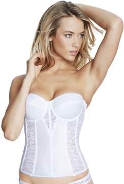 Dominique Plus Size Bras: Colette Lace Corset Bridal Bra 8949