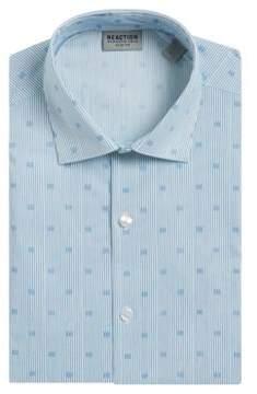 Kenneth Cole Reaction Striped Flex Dress Shirt