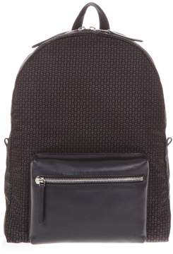 Alexander McQueen Skull Print Faux Leather Backpack