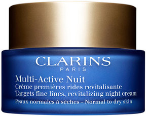 Clarins Multi-Active Night Cream for Normal to Dry Skin, 1.7 oz.