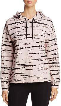Andrew Marc Performance Abstract Tie-Dye Print Hoodie