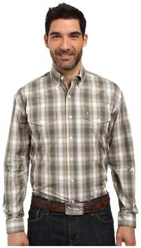 Stetson Willow Ombre Long Sleeve Woven Button Shirt