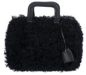 3.1 Phillip Lim Leather-Trimmed Satchel