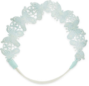 Carole Blue Butterfly Headband