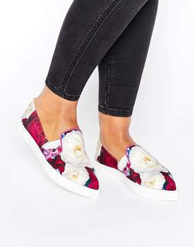 Ted Baker Thfia Blushing Bouquet Slip On Sneakers