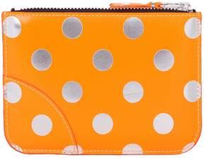 Comme des Garcons Wallet Wallet Polka Dot Zip Wallet