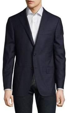Hickey Freeman Graphic Wool Blazer