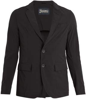 Herno Single-breasted notch-lapel shell blazer