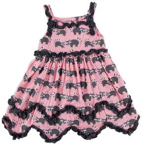 Kickee Pants Raccoon Dress & Bloomer-Infant