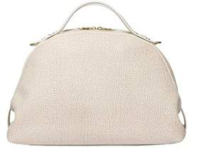 Borbonese Women's Beige Polyester Handbag.