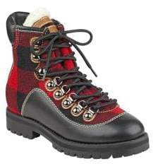 Tommy Hilfiger Tonny Plaid High Top Boots