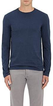 Isaia Men's Cotton Long-Sleeve T-Shirt