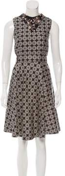 Rodarte Jacquard Knee-Length Dress