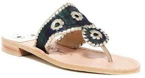 Jack Rogers Jacks Plaid Thong Sandal