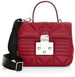 Furla Quilted Leather Shoulder Bag